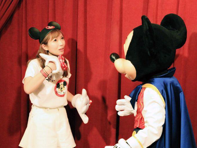 しゃべるミッキーマウス