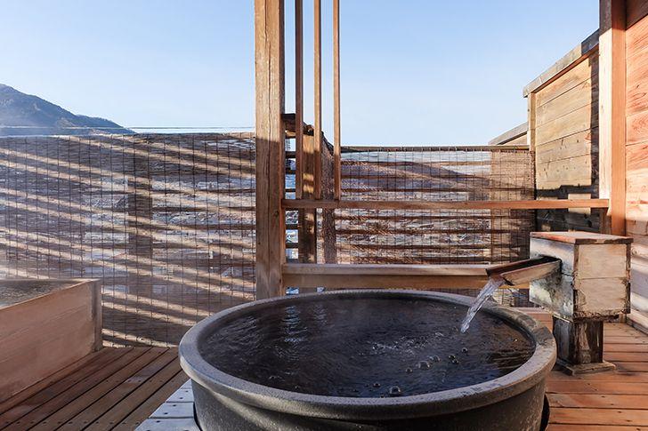 カップルで入浴するなら貸切風呂か内湯