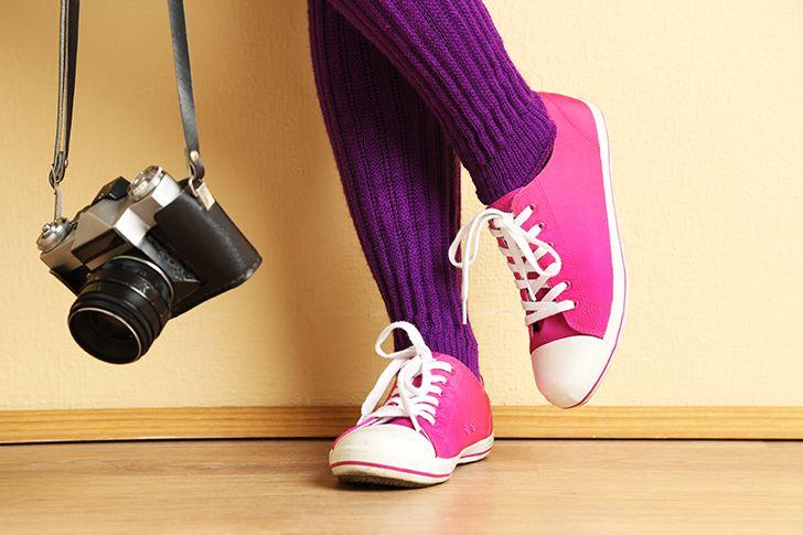 動きやすい服装、歩きやすい靴で行く