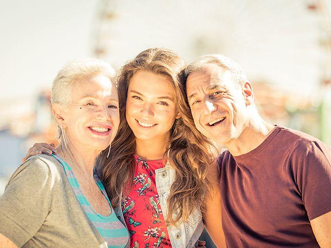 親との信頼関係を大切にする