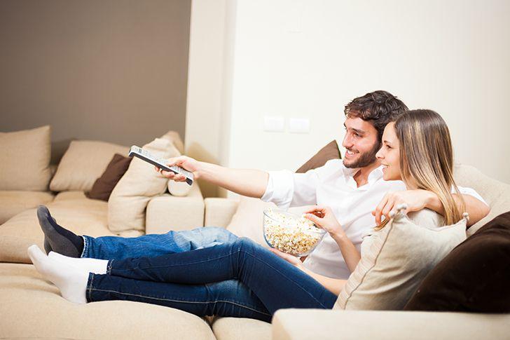 お家で雰囲気の良い映画を観る