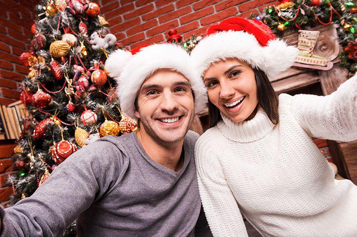 自宅でクリスマスパーティー