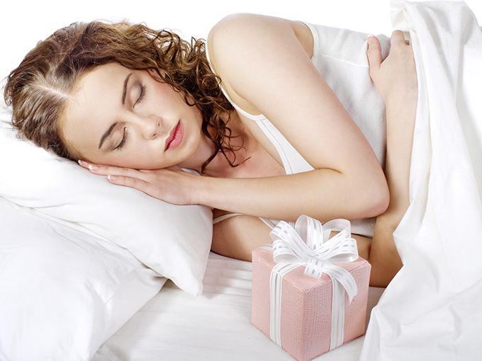 起きたら枕元にプレゼント
