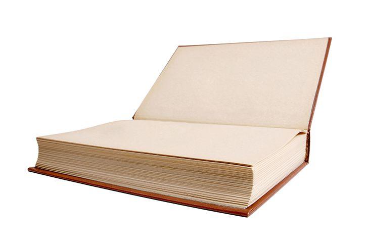 分厚い本を開いたら指輪
