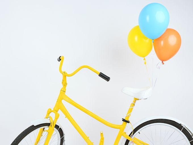 登校用自転車