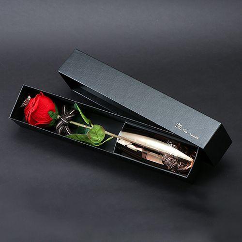 メッセージフラワー赤バラ