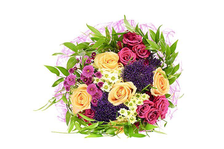相手の好きな花で作った花束
