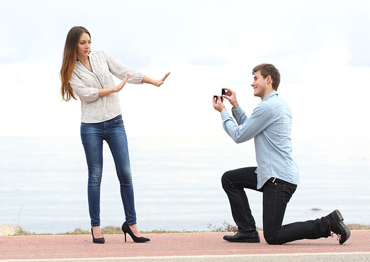 プロポーズ失敗