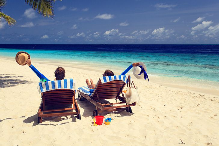 海辺デート