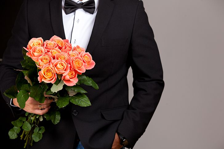 プロポーズ花束